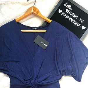 Fashion Nova | NWT 4/$25 Blue Sparkle Dress